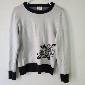 Kate Spade Scoop Neck Pullover Sweater Size XL